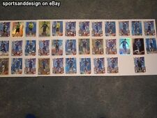 Various genuine Chelsea hand signed football sport match attax cards 2012-2013