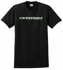 CANNONDALE BICYCLE T SHIRT MOUNTAIN BIKE MTB RACE ROAD CYCLING LIME BLACK