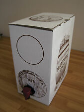 5 Litre Cider Beer Wine Bag In A Box Container Barrel Homebrew Dispenser Barrel