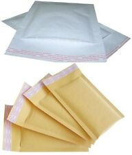 COMPACK GOLD & WHITE PADDED ENVELOPES SEAL STRIP BUBBLE POUCH MAILER