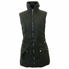 Dales Collection Longer Length Bodywarmer Ladies Quilted Gilet Black Navy Red