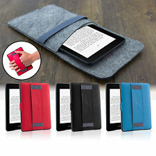 Slim Magnetic Leather Smart Case Cover for Amazon Kindle Paperwhite -Sleep Wake