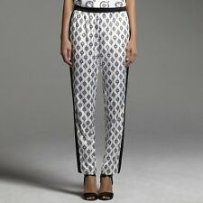 Narciso Rodriguez for DesigNation Medallion Charmeuse Pants-Size XLg~$48~NWT