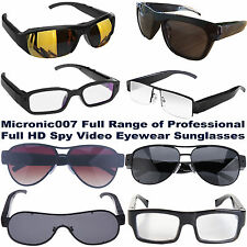 NEW 720/1080p FULL HD VIDEO/PHOTO & SOUND SPY CAMERA GLASSES/SUNGLASSES/EYEWEAR