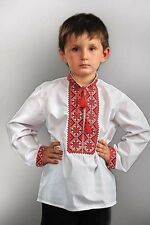 "Ukranian traditional wear / Boys' Shirt ""Milodar"". Embroidered. Fast shipping!"