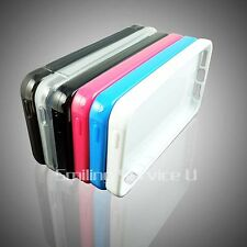 TPU soft rubber Case Cover skin for apple iPhone 5 5G do wholesale