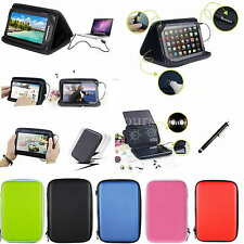 """Speaker Leather Case+Stylus For 10.1"""" ASUS Transformer Pad TF300T TF300 TF300TG"""