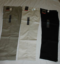 Izod Heritage Chino, Wrinkle Resistant, Double Pleated, Mens, 100% Cotton