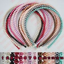 Pearl Headband - Simple Gorgeous Womens Girl Hair Head Band Accessories - NEW