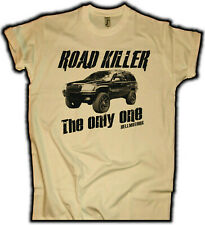 Road Killer Grand Cherokee wj T-Shirt sand Vintage V8 Jeep Cruiser US Car Truck