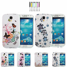 New Silicone Soft Case Cover For Samsung Galaxy S4 i9500 Free Screen Protector