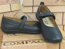 Compagnucci Girls Leather Shoes 1552 in Navy RRP £59.00