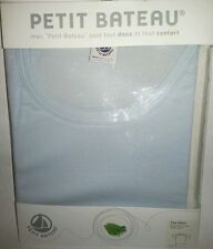 PETIT BATEAU Women's T Shirt LIGHT BLUE, NEW IN PACKAGE
