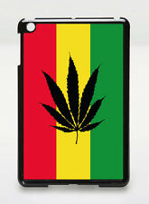 ipad mini case cover Reggae Rasta Flag Marijuana Weed Leaf - IPM009