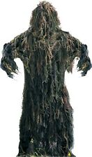Woodland Camouflage All Purpose Ultra Lightweight Ghillie Suit