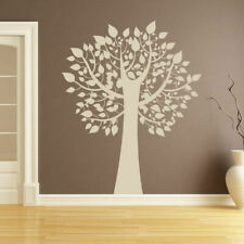 Tree with Leaves Wall Art Sticker (AS10023)