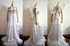 Sailor Moon Princess Serenity Dress Cosplay Costume Wedding Gown Free Shipping