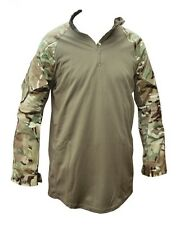 MTP CAMOUFLAGE UNDER BODY ARMOUR COMBAT SHIRT UBAC - GREEN - NEW