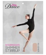 Silky Adult Womens Stirrup Shimmer Tights S M L XL