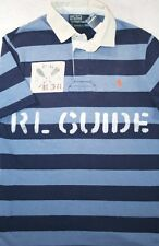 NWT Polo Ralph Lauren S & M Custom Fit RL Guide Kayak River Rafting Rugby Shirt