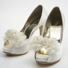 Women's Wedding Heels Shoes Party Pumps Bridal Shoes 0121 Made In Korea Item