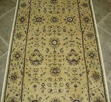"152912 - Rug Depot Hall and Stair Runner Remnants - 26"" Wide - Ivory Rug Runner"