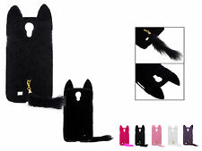 3D Furry Cat Kitten Cute TPU Case Cover Skin for Samsung Galaxy S4 S IV i9500