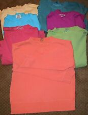Comfort Colors LADIES CUT Sweatshirt Watermelon, Rasp. Melon Aloe M-2X  1596