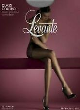 LEVANTE CLASS 12 DENIER SHEER CONTROL TOP TIGHTS VARIOUS SIZES AND COLOUR