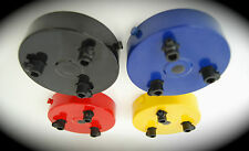 Ceiling Rose 3 Way Triple Outlet Lamp Light Retro Funky 60's 70's 80's