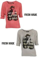 Fresh Made T-Shirt Top Gr. XS, S, M, L, XL 2 Farben NEU