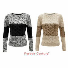 BRAVE SOUL pull tricot mode femme manches longues taille XS - L
