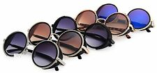OBLIVION SUNGLASSES STEAMPUNK RETRO CYBER VINTAGE FANCY DRESS VICTORIAN ROUND