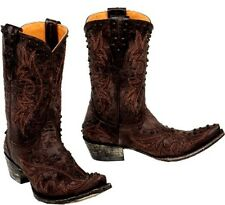 """Women's Old Gringo """"Marcela"""" Chocolate Brown Leather Cowboy Boots  *ON SALE NOW*"""