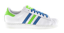 Adidas Originals Superstar II Men's Sneakers Running White/Blue/Green q33036