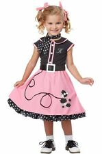 Brand New Grease 50's Poodle Cutie Toddler Halloween Costume