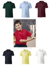 French Toast Boys SZ 5 - 20 Youth Short Sleeve Pique Polo Shirt School Uniform