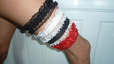Lace Garter Belts tip holder Exotic Dancer stripper lap dancer Bride
