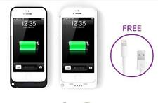 2200mAh Portable Backup External Battery Power Pack Charger Case For iPhone 5 5G