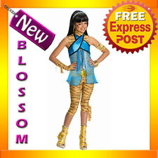 CK47 Child Girl Monster High Cleo de Nile Costume Fancy Dress Up Party Outfit