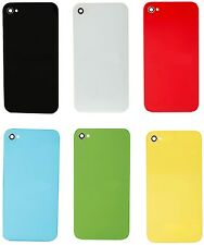 Back Rear Glass Cover Housing Assembly Replacement part for iPhone 4 GSM A1332