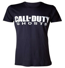 T-Shirt CALL OF DUTY GHOSTS 2013 S M L XL LOGO Schwarz/Weiss NEU+OVP