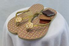 Havaianas Special Collection Slim Geometric Sand Grey/Golden Sun MSRP $50 NEW