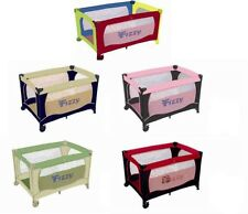 Fizzy Baby Portable Folding Crib / Play-Pen with Carry Bag NEW