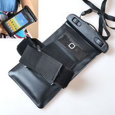 Waterproof & Armband Dry Bag Skin Case Cover for Huawei Ascend Cell Phones 2013