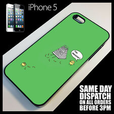 Cover for iPhone 5s Funny Cheese LOL Cute Cartoon Quirky Phone Case +2099