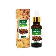ANISEED OIL 100% NATURAL PURE UNDILUTED UNCUT ESSENTIAL OIL 5ML TO 100ML