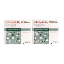 2 x VITAMIN B12 - 50 µg/ML Anemia, Weight Loss,Tiredness, Neurological Issues