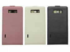 Flip Magnetic Synthetic Leather Case Cover Skin for LG Optimus L7 P700 P705 BARA