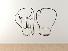 Boxing Gloves - MMA Training Fighter Martial Arts - Vinyl Wall Decal